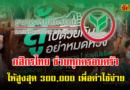 กสิกรไทย ช่วยสูงสุด 300,000 เพื่อใช้จ่ายประกอบอาชีพ